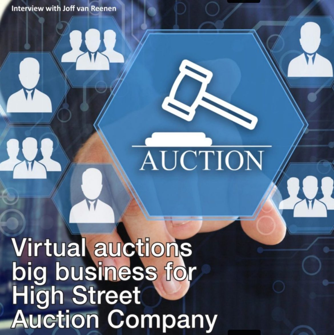 High Street Auctions are Technology Leaders, says Asset Mag