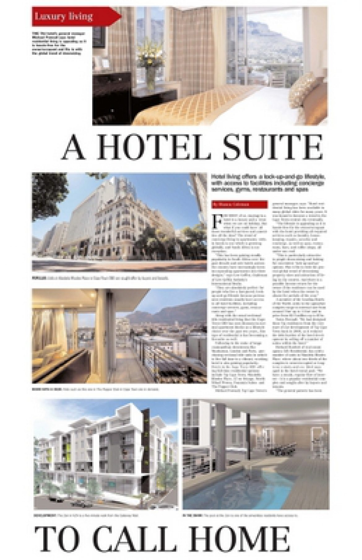 A Hotel Suite to call Home